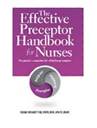 Image of the book cover for 'The Effective Preceptor Handbook for Nurses'