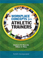 Image of the book cover for 'Workplace Concepts for Athletic Trainers'