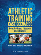 Image of the book cover for 'Athletic Training Case Scenarios'