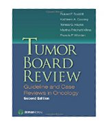 Image of the book cover for 'TUMOR BOARD REVIEW'