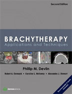 Image of the book cover for 'BRACHYTHERAPY'