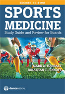Image of the book cover for 'SPORTS MEDICINE'