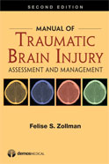 Image of the book cover for 'Manual of Traumatic Brain Injury'