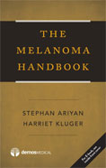 Image of the book cover for 'The Melanoma Handbook'