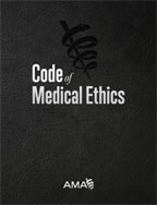 Image of the book cover for 'Code of Medical Ethics of the American Medical Association'