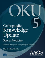 Image of the book cover for 'Orthopaedic Knowledge Update Sports Medicine 5'
