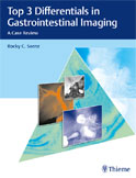 Image of the book cover for 'Top 3 Differentials in Gastrointestinal Imaging'