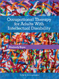 Image of the book cover for 'Occupational Therapy for Adults With Intellectual Disability'