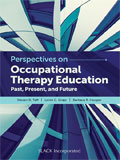 Image of the book cover for 'Perspectives on Occupational Therapy Education'
