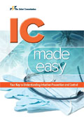 Image of the book cover for 'Infection Control Made Easy'