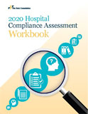 Image of the book cover for '2020 Hospital Compliance Assessment Workbook'