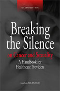 Image of the book cover for 'Breaking the Silence on Cancer and Sexuality'