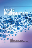 Image of the book cover for 'Guide to Cancer Immunotherapy'