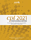 Image of the book cover for 'CPT 2021 Professional Edition'