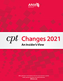 Image of the book cover for 'CPT Changes 2021'