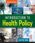 Image of the book cover for 'Introduction to Health Policy'