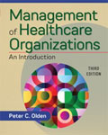 Image of the book cover for 'Management of Healthcare Organizations: An Introduction'
