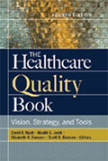 Image of the book cover for 'The Healthcare Quality Book: Vision, Strategy, and Tools'