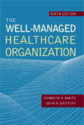 Image of the book cover for 'The Well-Managed Healthcare Organization'