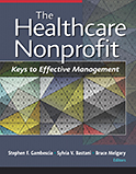 Image of the book cover for 'The Healthcare Nonprofit'
