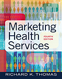 Image of the book cover for 'Marketing Health Services'