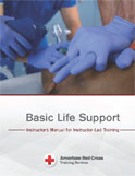 Image of the book cover for 'Basic Life Support Instructor's Manual for Instructor-Led Training'