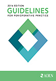 Image of the book cover for 'Guidelines for Perioperative Practice 2016'
