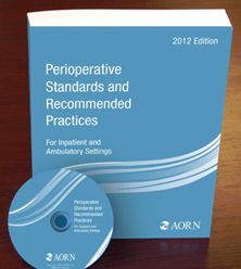 Image of the book cover for 'PERIOPERATIVE STANDARDS AND RECOMMENDED PRACTICES 2012 EDITION'
