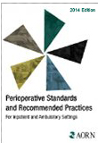 Image of the book cover for 'PERIOPERATIVE STANDARDS AND RECOMMENDED PRACTICES 2014 EDITION'