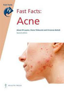 Image of the book cover for 'Fast Facts: Acne'