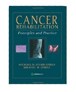 Image of the book cover for 'Cancer Rehabilitation'