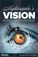 Image of the book cover for 'Nightingale's Vision: Advancing the Nursing Profession Beyond 2020'