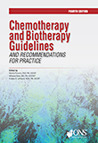 Image of the book cover for 'Chemotherapy and Biotherapy Guidelines and Recommendations for Practice'
