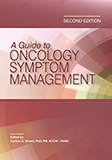 Image of the book cover for 'A Guide to Oncology Symptom Management'