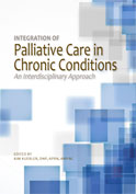 Image of the book cover for 'Integration of Palliative Care in Chronic Conditions: An Interdisciplinary Approach'