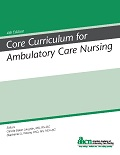 Image of the book cover for 'Core Curriculum for Ambulatory Care Nursing'