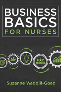 Image of the book cover for 'Business Basics for Nurses'