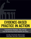 Image of the book cover for 'Evidence-Based Practice in Action'