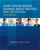 Image of the book cover for 'Johns Hopkins Nursing Evidence-Based Practice: Model and Guidelines'