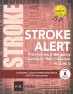 Image of the book cover for 'Stroke Alert, Volume III'