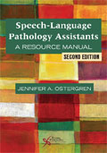 Image of the book cover for 'Speech-Language Pathology Assistants'