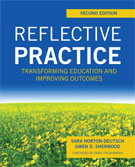 Image of the book cover for 'Reflective Practice'