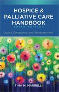 Image of the book cover for 'Hospice & Palliative Care Handbook'