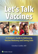 Image of the book cover for 'Let's Talk Vaccines'