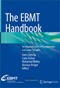 Image of the book cover for 'The EBMT Handbook'