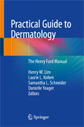 Image of the book cover for 'Practical Guide to Dermatology'