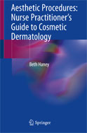 Image of the book cover for 'Aesthetic Procedures: Nurse Practitioner's Guide to Cosmetic Dermatology'