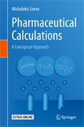 Image of the book cover for 'Pharmaceutical Calculations'