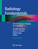 Image of the book cover for 'Radiology Fundamentals'