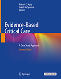 Image of the book cover for 'Evidence-Based Critical Care'